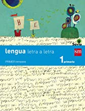 Lengua: letra a letra. 1 Primaria. Savia - 9788467567908: Lengua 1 Primaria