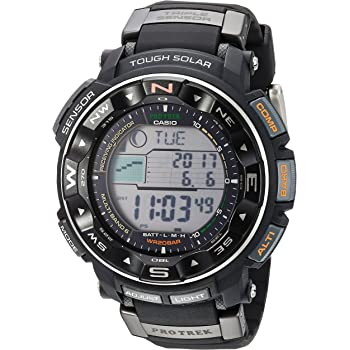 Casio Men's Pro Trek PRW2500R Tough Solar Digital Sport Watch
