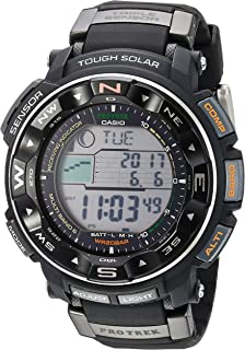 Men's Pro Trek PRW2500R Tough Solar Digital Sport Watch