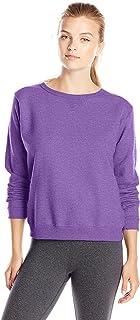Hanes Women`s V-Notch Pullover Fleece Sweatshirt