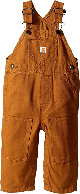 Carhartt Kids - Canvas Bib Overalls (Infant)