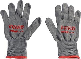 VViViD Grey Professional Vinyl Wrap Anti-Static Applicator Glove Pair (2 Glove Pack)