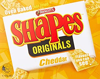 Arnott's Shapes Cheddar Biscuits, 175 Grams