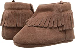 Soft Sole Moccasin Bootie (Infant)