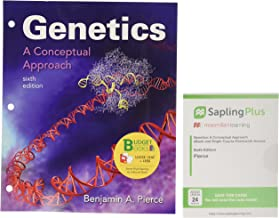 Loose-leaf Version for Genetics: A Conceptual Approach 6e & SaplingPlus for Genetics: A Conceptual Approach 6e (Six-Month Access)