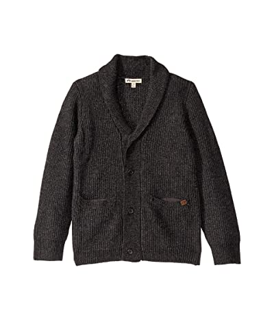 Appaman Kids Shelby Cardigan (Toddler/Little Kids/Big Kids) (Charcoal Heather) Boy
