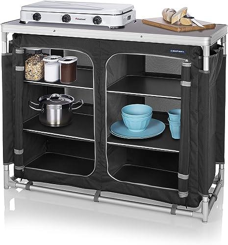 Camp de four pour cuisiner en plein air Portable Baking cuire les aliments tandis que le camping chauffer