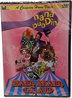 Nana Puddin' Sad, Mad, Glad Short stories for Kids-Moral Stories for Kids Children Mocie  for Kids-Kids' Movies-Music Video for Kids-Circus-Clowns-Party Circus-Juggler-Smile-Funny Animals
