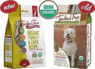 Tender & True Organic Turkey & Liver Recipe Dog Food, 20 lb
