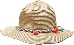 Seafolly Kids - Shady Lady Tassel Coyote Hat (Big Kids)