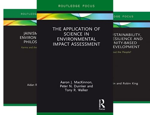 Routledge Focus on Environment and Sustainability (35 Book Series)