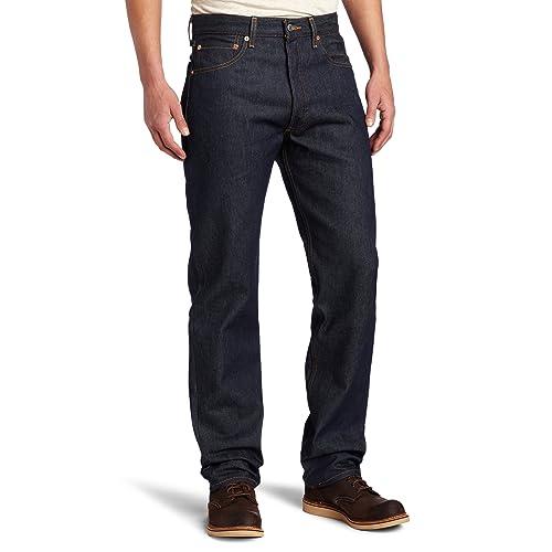 a8bc49dfde8 Levi's Men's 501 Original Shrink-to-Fit Jeans