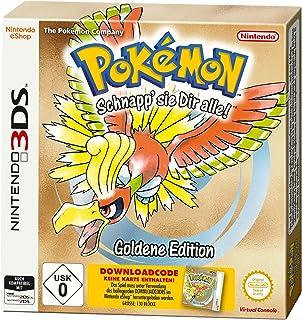 Pokémon Gold - Standard Edition (Code in der Box) - Nintendo 3DS [Importación alemana]