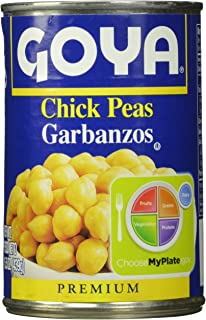 Goya Chick Peas, 6Count, 15.5 Oz