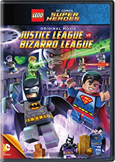 LEGO DC: JL vs. Bizarro League (DVD)