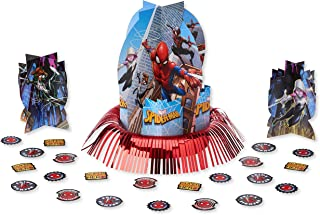Amscan Webbed Wonder Spider-Man Table Decorations Kit