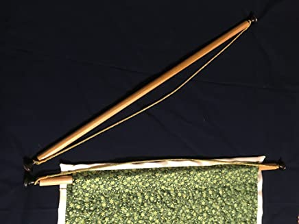 "Wall-hanging Rod for Quilts, Tapestries or Banners - Custom Length 29"" - 48"" long"
