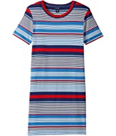 Tommy Hilfiger Kids - Yarn-Dye Rib Dress (Big Kids)