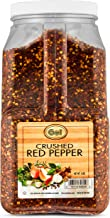 Gel Spice Crushed Red Pepper Chilli Flakes - Bulk Size - 4 Pound