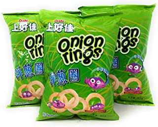 Oishi Chips (Onion Rings, 3 Pack)