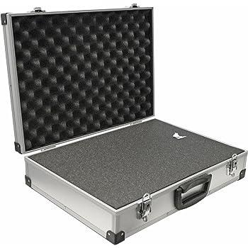 PeakTech 7270 – Estuche universal para dispositivos de medición, robusto, almacenamiento de herramientas, relleno de espuma, con cerradura, protección contra el polvo, XXL - 500 x 350 x 120 mm: Amazon.es: Industria, empresas y ciencia