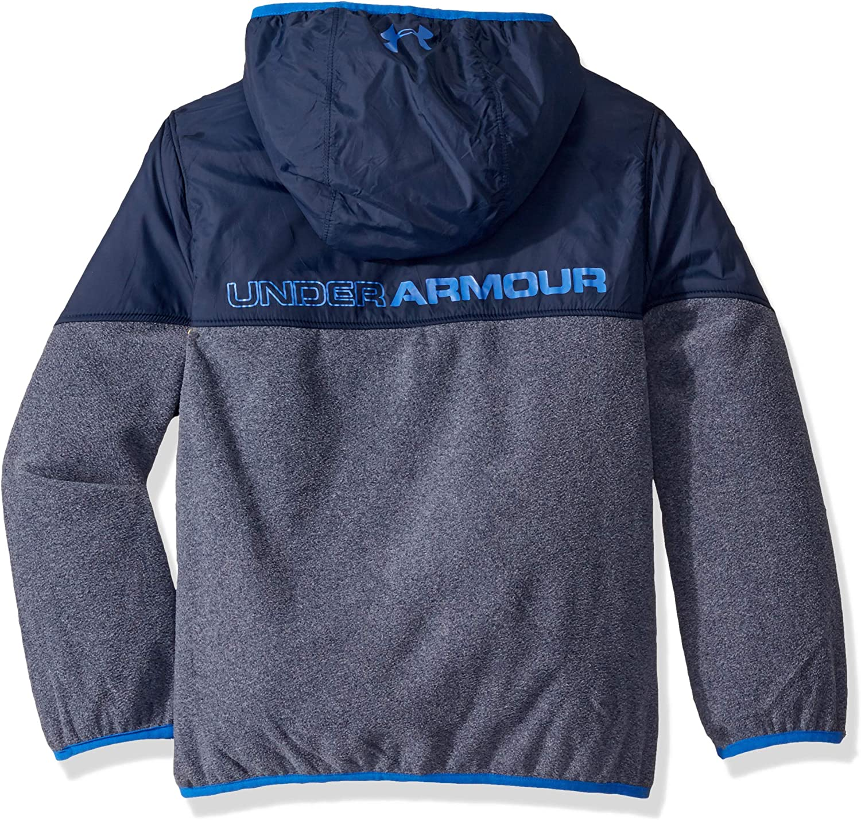 Under Armour Boys Print North Rim Micro Fleece Hoody