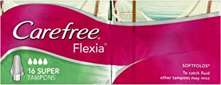 Carefree Tampons Flexia Super 16