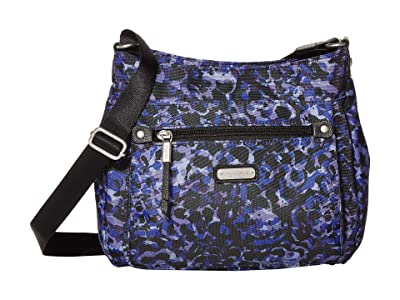 Baggallini New Classic Uptown Bagg with RFID Phone Wristlet (Abstract Bloom) Bags