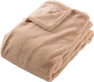 mofua ( モフア ) 毛布 プレミアムリッチファー シングル ベージュ 57810105