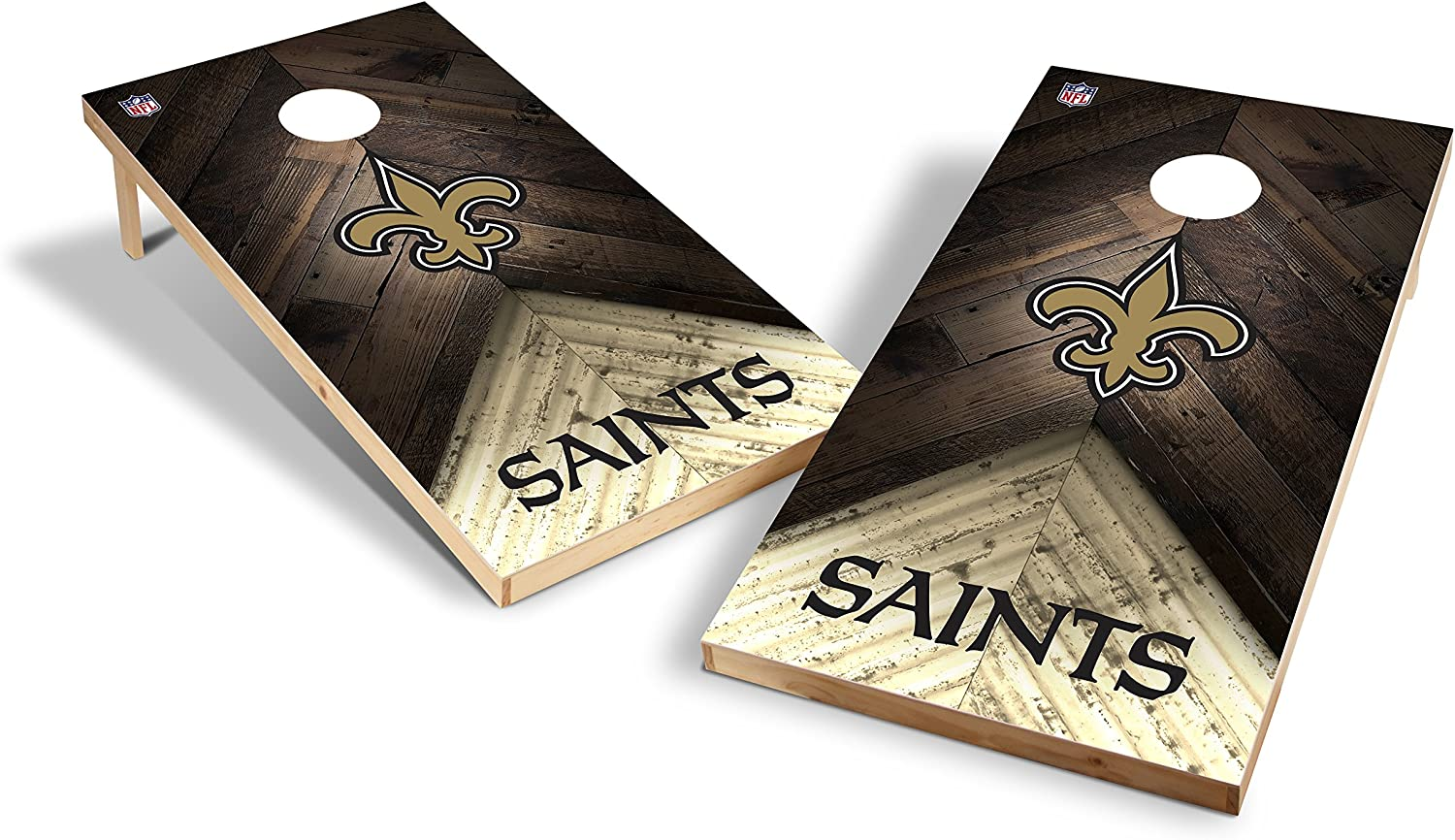 Discount mail order Wild Sports NFL Cornhole Outdoor Game Set 2' Tourna - 4' x Foot OFFer