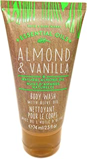 Bath and body works Almond and vanilla Body wash with olive oil 74ml