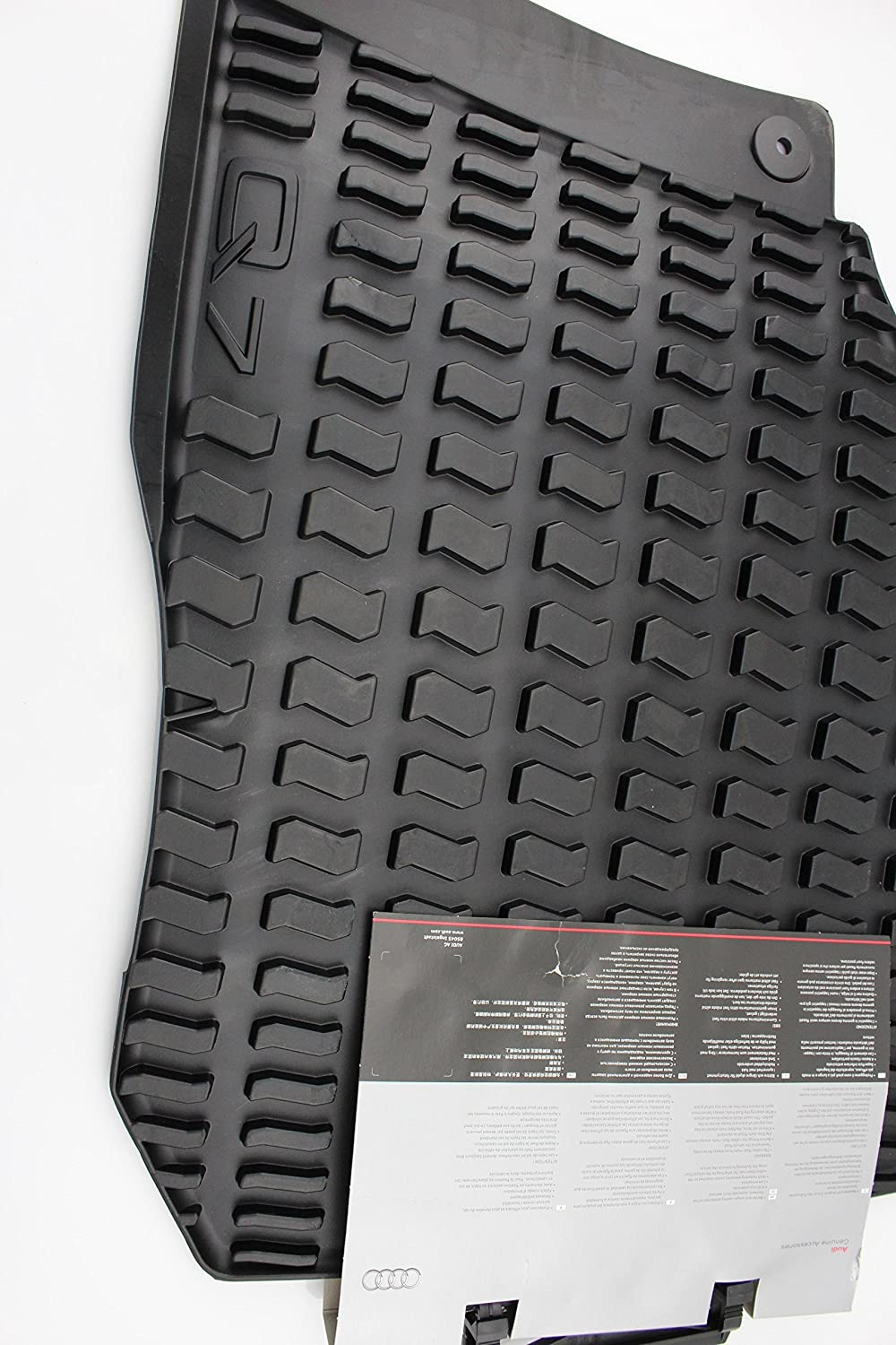 Sale price AUDI 4L1061501041Rubber Foot Black Ranking TOP5 Mats Front