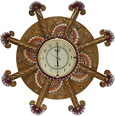 999Store wooden royal antique vintage look indian art rajasthani art large big hand made brown tree