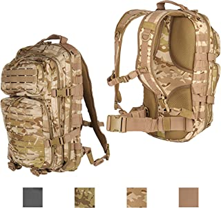 6c9f69fd3ef43 Lancer Tactical All-Purpose High Performance 3-Day Back Pack Heavy Tension  Laser Cut