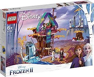LEGO 41164 Disney Frozen II Enchanted Treehouse with Princess Anna, Olaf and Mattias, 2 Bunny Rabbits and Fish Animal Figu...
