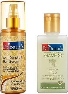 Dr Batras Anti Dandruff Hair Serum, 125ml with Free Dr Batras Dandruff Cleansing Shampoo, 100ml