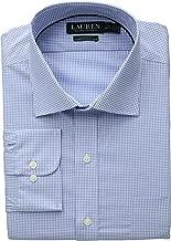 LAUREN RALPH LAUREN Men's Non-Iron Classic Fit Stretch Poplin Dress Shirt