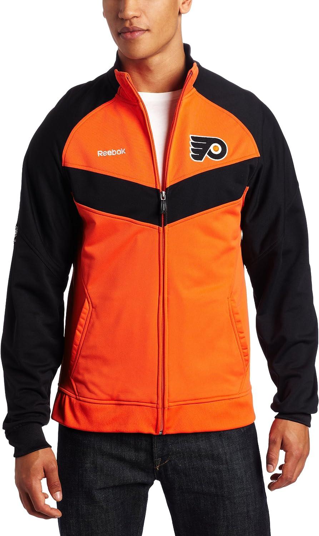 NHL Philadelphia Flyers Milwaukee Mall Max 78% OFF Center Ice Men's Travel Jacket