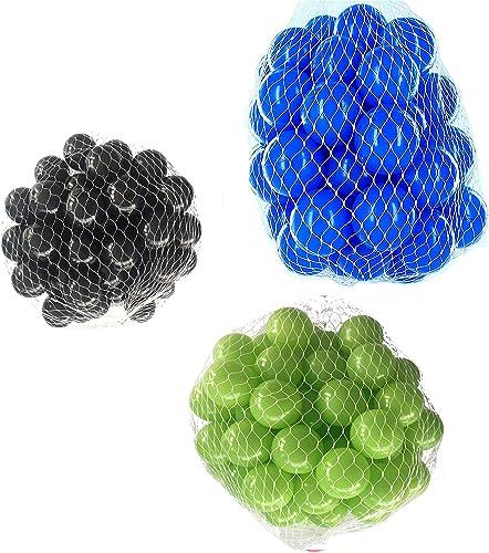 Ven a elegir tu propio estilo deportivo. Pelotas para pelotas baño variadas Mix Mix Mix con verde claro, azul y negro Talla 6000 Stück  bajo precio