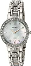 Seiko Women's Silvertone Crystal Collection Watch