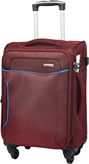Murano Polyester 20 inches Maroon Hardsided Cabin Luggage (1070048_K)