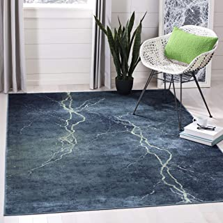 Safavieh Constellation Vintage Collection CNV748-2224 Turquoise and Multi Viscose Area Rug (5'3