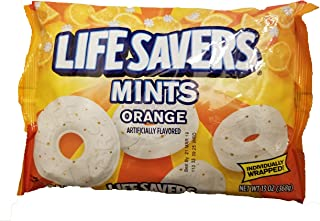 Life Savers Orange Mints ( Pack of 2) 13-Ounce bags