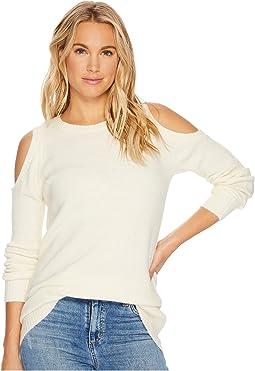 kensie - Warm Touch Cold Shoulder Sweater KS0U5404