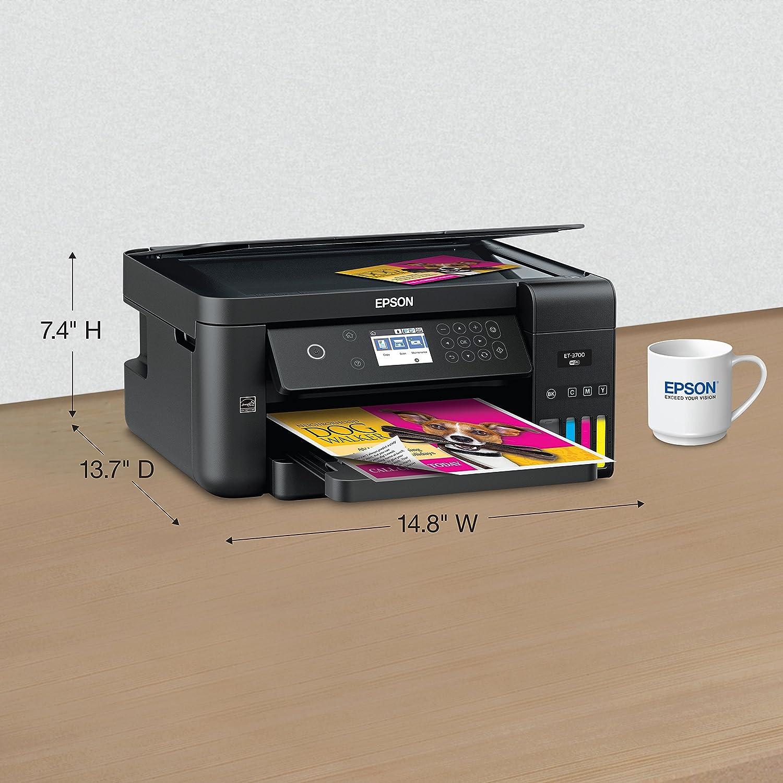 Epson Expression ET-3700 EcoTank Wireless Color AIO Supertank Printer