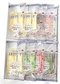 日本製乳 おしどりミルクケ-キ 8種類詰合計50本