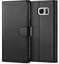 Vakoo Galaxy S7 Wallet Flip Cases, Samsung S7 Folio Case, Premium PU Leather Cases Phone Cover for Samsung Galaxy S7 (Black)