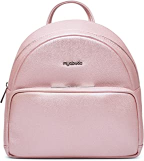 Myabetic Brandy Diabetes Backpack for Glucose Meter, Test Strips, Insulin pens or vials, glucagon, Includes Insulation Section (Pink Frost)