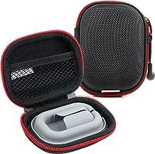 DURAGADGET Hard EVA 'Shell' Storage Case/Bag with Protective Silicone Padding - Suitable for Atomic Floyd Superdarts Titanium Earphones