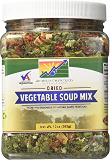 Mother Earth Products Dried Vegetable Soup Mix, 10oz (283g)